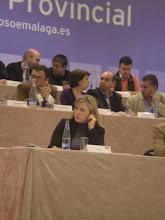 Mesa comité provincial PSOE-Málaga
