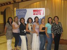 Con Rosa Torres
