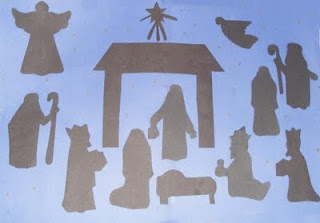 Nativity paper pieced wall hanging – Quilting Board