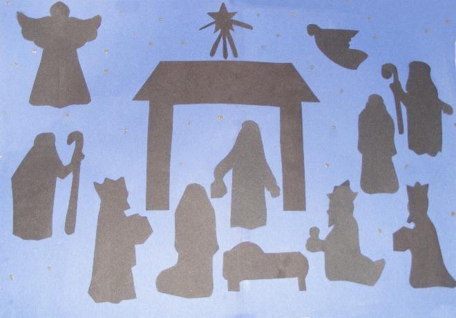Légend image intended for printable nativity scene patterns