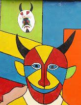 Mural de los Diablos Danzantes