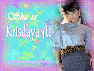 Krisdayanti she is picture