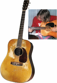 Kurt Cobains Guitars Now 1953 Martin D18