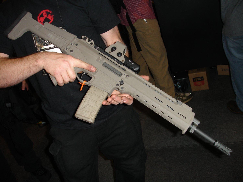 La novia perfecta del Sniper: G&P WOC Sniper V.P.R.  SHOT+Show+2007+-+Magpul+Industries+Masada+5.56mm+Rifle-Carbine_3