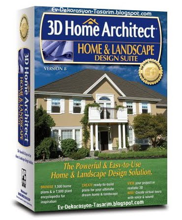3d Home Architect Design Deluxe 8 Full Indir Ev Tasarlama
