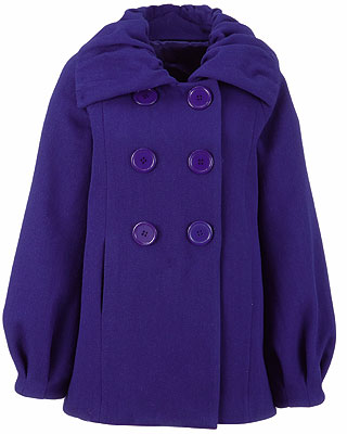 Cobalt Blue Coat