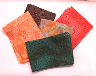 Fabric Grab Bag from Handmade by Sandi on Etsy