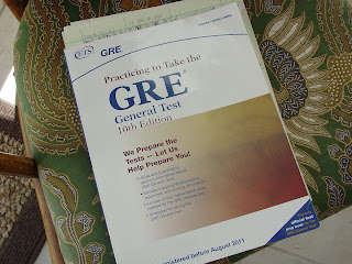 picture of GRE study Book
