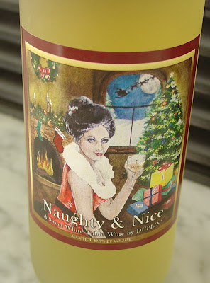 Duplin Winery Label for Naughty or Nice Sweet Table Wine
