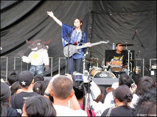 Live performance at FilAmFest 2008.