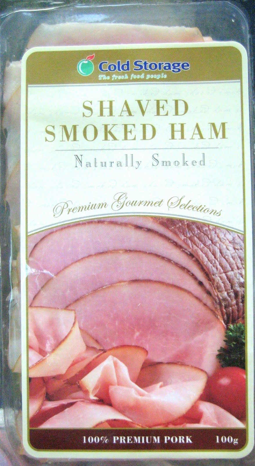 The Cold Storage Shaved Smoked Ham ($5.95) is one of my favourite hams to snack on while watching the telly itu0027s salty flavourful and cut so thin it ... & The Hungry Bunny: Cold Storage Shaved Smoked Ham