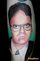 Dwight Tattoo The Office