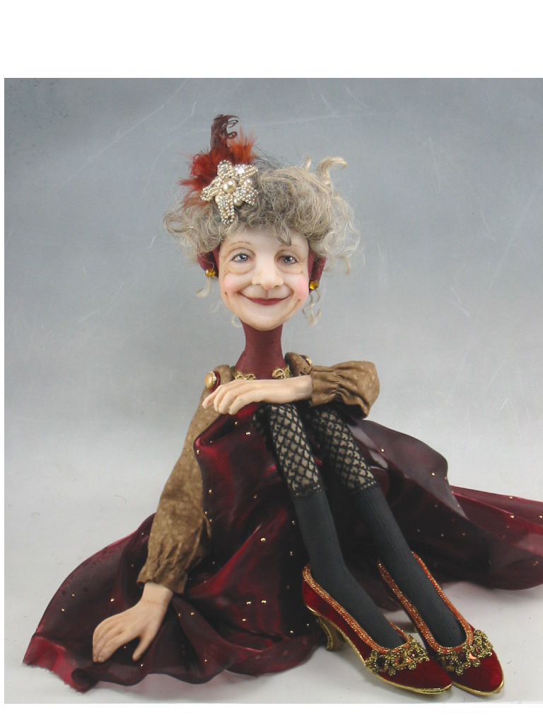 Dianne Adam Dolls: Holiday dolls from Christmas past