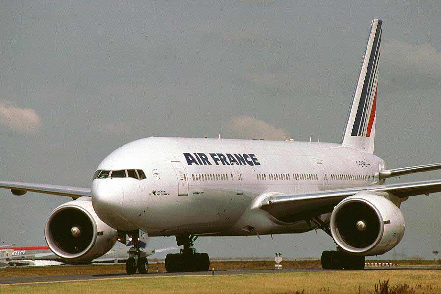 Paris/França - Santiago/Chile B777afn