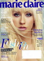 Christina Aguilera does Marie Claire Magazine
