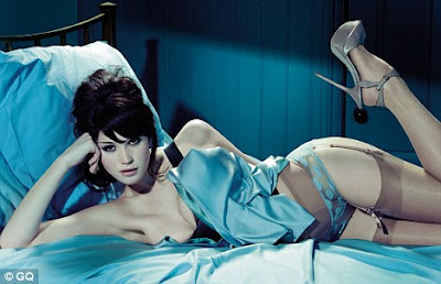 Gemma Arterton – in GQ UK Magazine