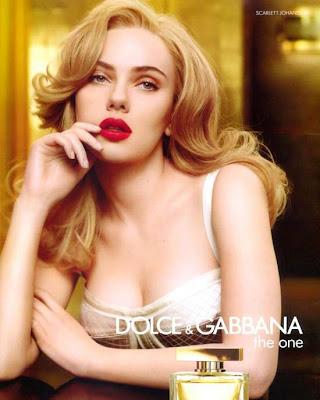 Scarlett Johansson Dolce & Gabbana ads