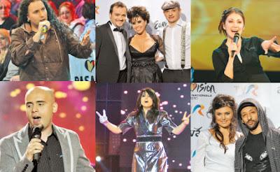 Clasament Preselectia nationala Eurovision 2010 Romania