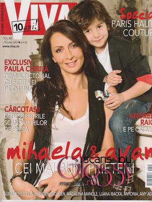 Mihaela Radulescu si Ayan in Viva