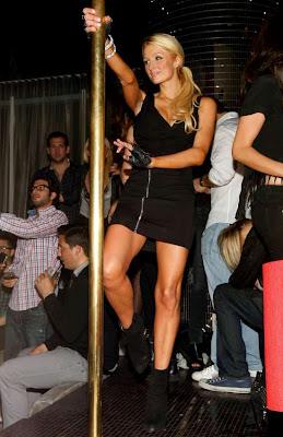 Paris Hilton la bara
