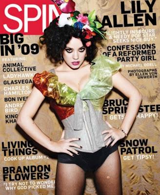 Lily Allen in revista SPIN