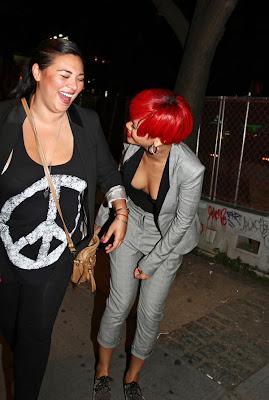 Rihanna get some implants