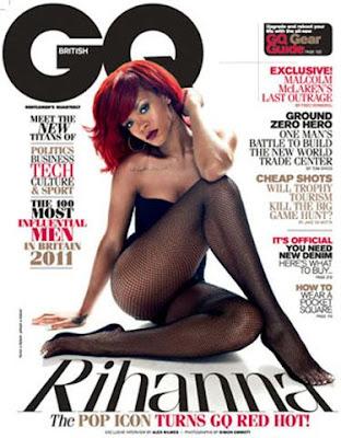 Rihanna GQ January 2011