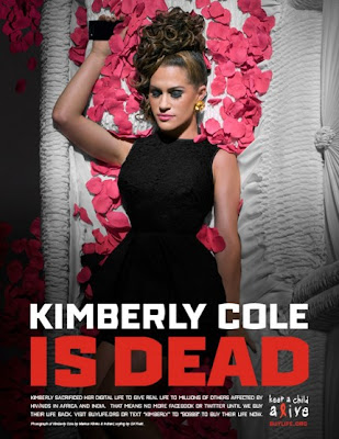 Kimberly Cole is dead