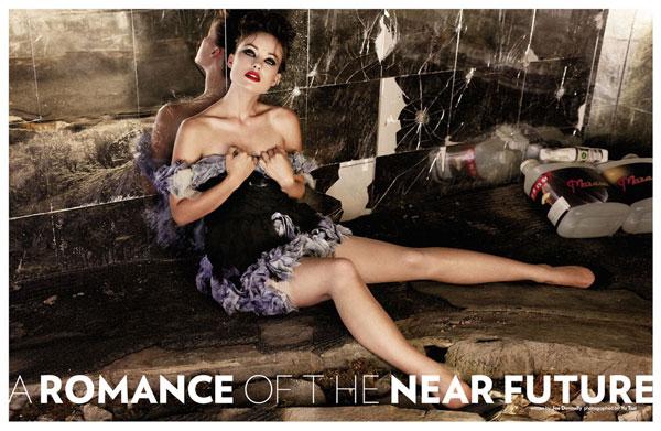 Olivia Wilde for Flaunt magazine