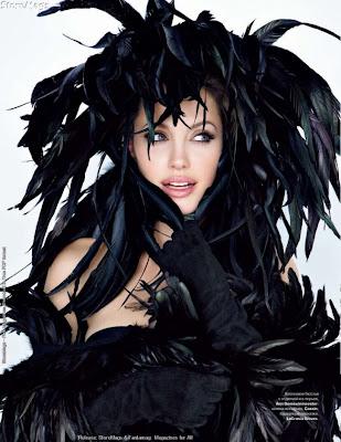 Angelina Jolie Tatler Magazine