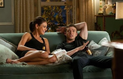 Justin Timberlake And Mila Kunis Fool  Around