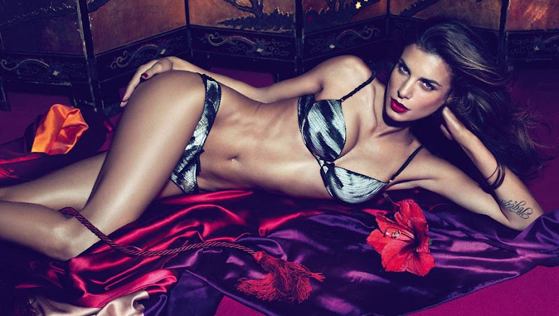 Elisabetta Canalis Photoshoot for Roberto Cavalli