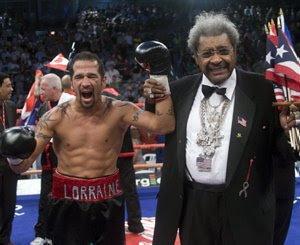 Daniel Santos Combate de boxeo