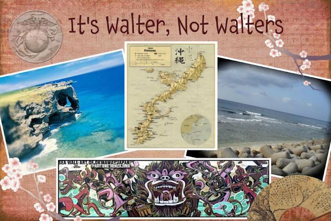 It's Walter, not Walters