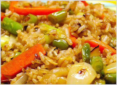 Vegan chinese fried rice