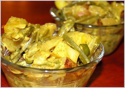 Green Beans and Potato Curry