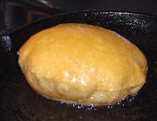 Frying puri