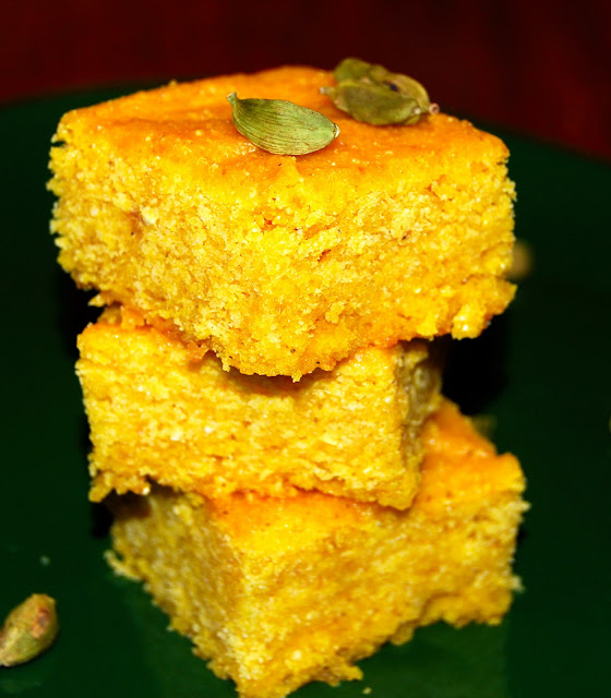 Mango cornbread, vegan and gluten-free