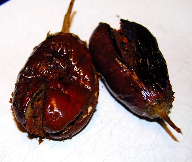 andhra style eggplants