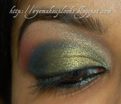 arabic eye makeup. Arabic eye look