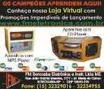 FM ELETRÔNICA - OS CAMPEÕES APRENDEM AQUI - CONHEÇA A LOJA VIRTUAL - PROMOÇÕES DE LANÇAMENTO !