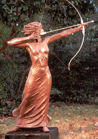 Artemis Greek Goddess Cartoon. ARTEMIS GREEK GODDESS