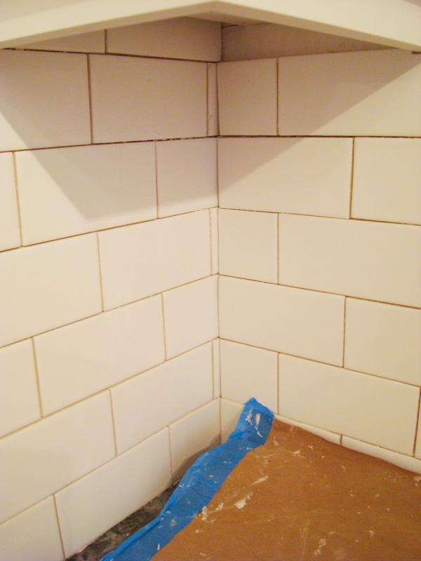 Tiling a backsplash inside corner for Tiling a backsplash inside corner