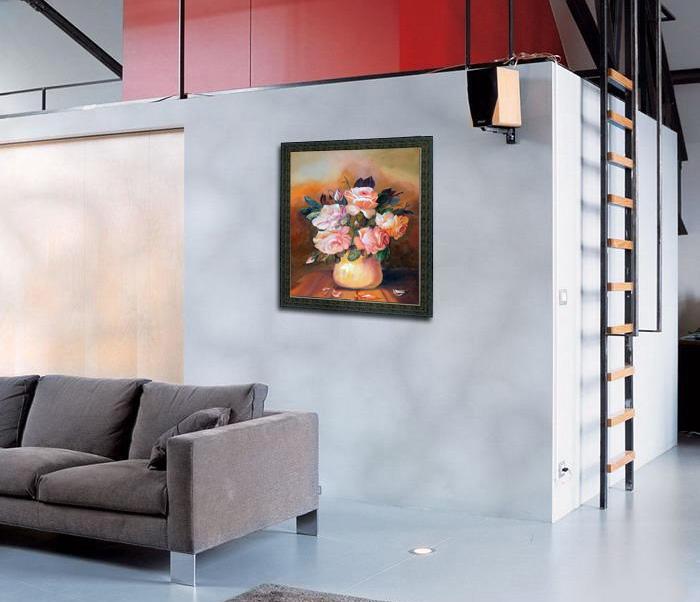 Pinturas en salas imagui - Pinturas modernas para sala ...