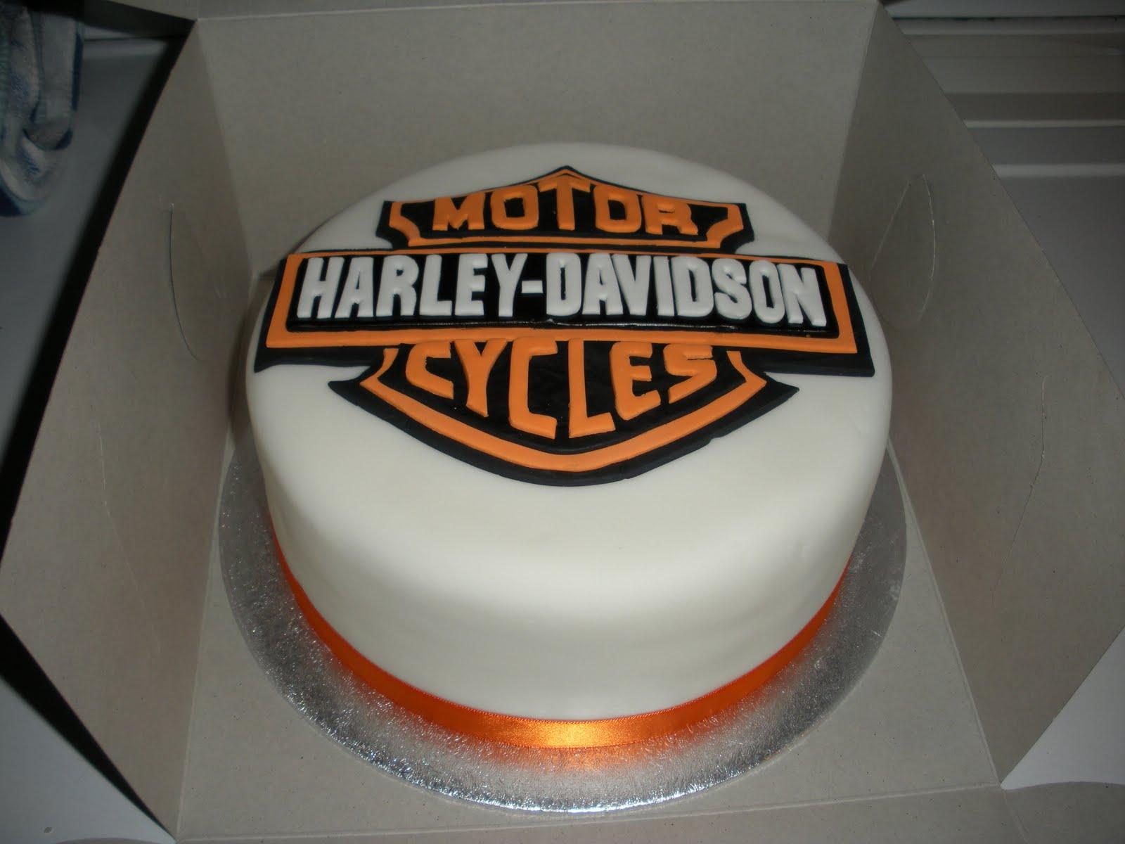 Harley Davidson Birthday Cakes Cakes Wedding Birthday Etc
