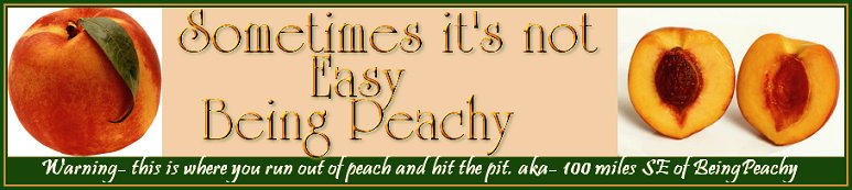 The Pits of Being Peachy