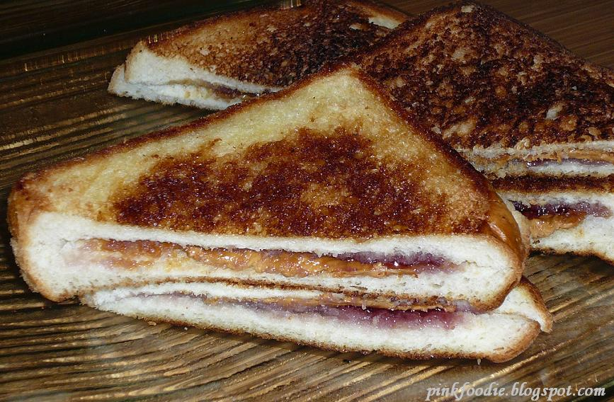 ... supplied the gaming snacks grilled peanut butter and jelly sandwich