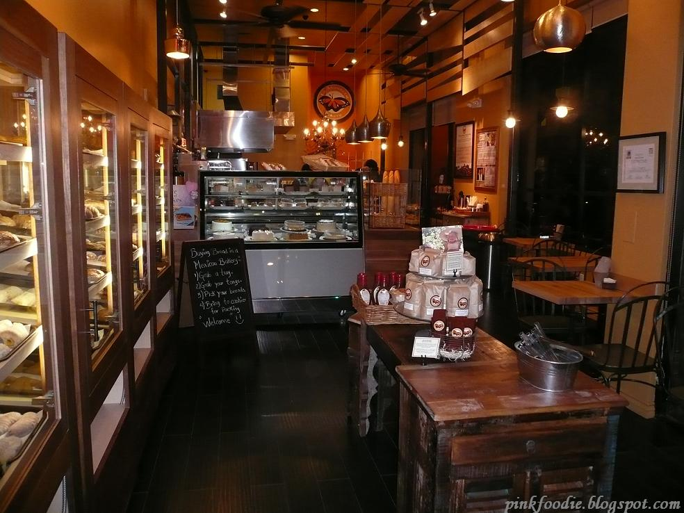 The Bakery Is Easy To Spot And The Floor To Ceiling Glass Windows Are Very  Welcoming. The Immediate Feeling Upon Entering The Bakery Is Warmth And  Comfort.