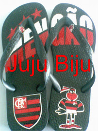 Sandália Time Futebol - Flamengo com etiqueta na tira