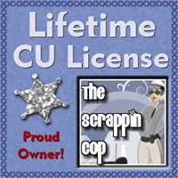The Scrappin Cop CU License
